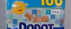 Muestra gratis de toallitas para bebés