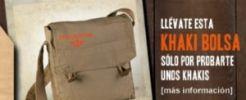 Dockers te otorga un práctico bolso de regalo
