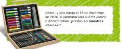 Banco Sabadell regala un maletín de pinturas a sus nuevos clientes