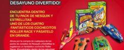 Compra Nesquik y llévate un juguete gratis para tu peque