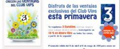 ClubVips te regala 3 euros para salir a cenar