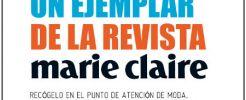 Lleváte gratis un Ejemplar de la Revista Marie Claire