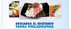 Descarga un Recetario de Tapas con Philadelphia
