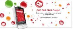 Coca Cola te regala 10 SMS para que envíes por día