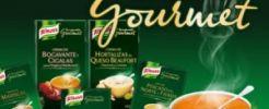 Knorr te deja probar gratis sus nuevas sopas