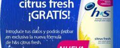 Muestras gratis de Champú H&S