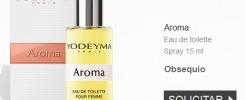 Muestra gratuita de perfumes Yodeyma