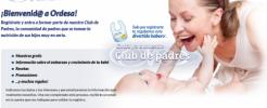 Consigue regalos gratis para tu bebé con Ordesa