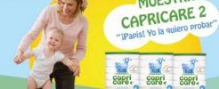 Pide una muestra gratis a domicilio de leche continuación Capricare 2
