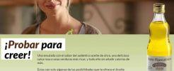 20.000 muestras gratis de aceite hipocalórico de Ordesa