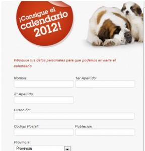 calendarios royal canin