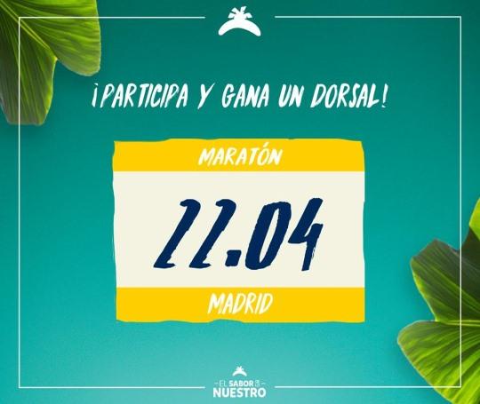 Gana dorsales con Platano de Canarias