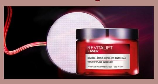 Apúntate para probar gratis Revitalift Laser Peeling